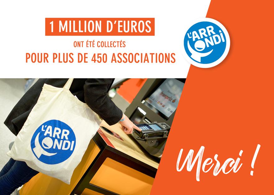 Franprix Franchit Le Cap Des 1 Million D Euros De Dons Collectes