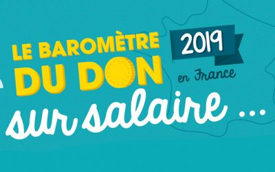 [Infographie] Baromètre don sur salaire 2019