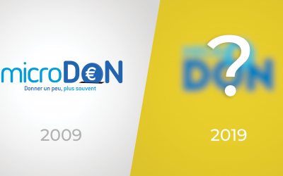 microDON change de logo