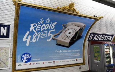 L'ARRONDI solidaire en TV et dans le métro parisien !