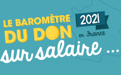 [Infographie] Baromètre don sur salaire 2021